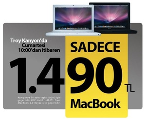 Troy Apple MacBook Kampanya - Elma Dergisi