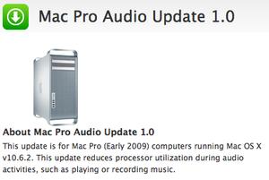 Mac Pro Audio Update - Elma Dergisi