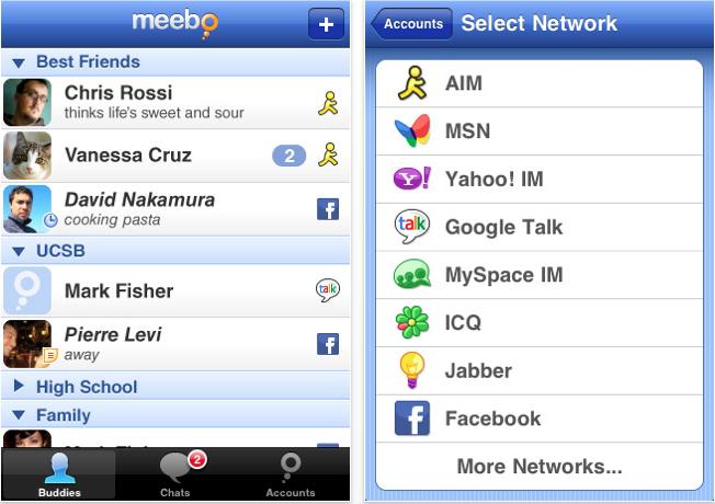 Meebo iPhone - Elma Dergisi