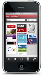 Opera Mini Browser for iPhone - Elma Dergisi