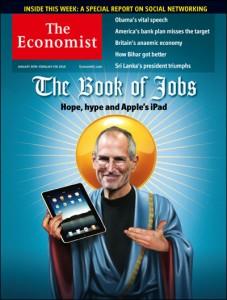 steve jobs - economist cover - Elma Dergisi