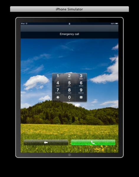 iPad simulator, emergency calls - Elma Dergisi Turkiye