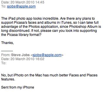 Steve Jobs Picasa Görüşleri - Apple Macintosh Magazin, Elma Dergisi Türkiye