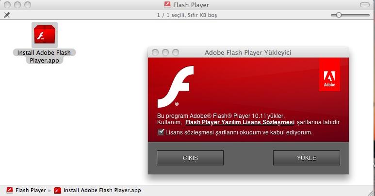 flash player10.1 GALA for mac - Elma Dergisi