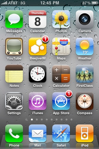 iPhone OS 4- HomeScreen- ElmaDergisi.com