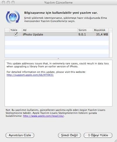 Apple iphoto 9.0.1 güncelleme update - Elma Dergisi