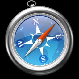 iOS 6 ve OS X Safari Simgesi
