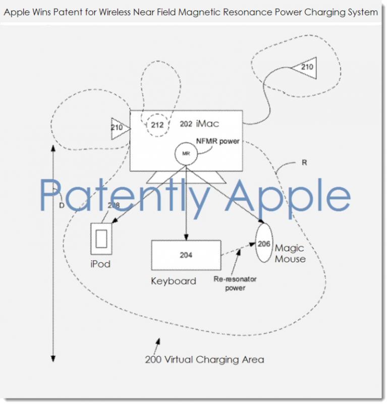 Apple Kablosuz Şarj Patent