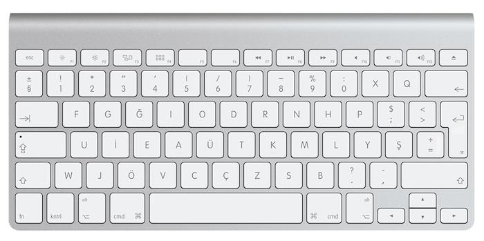 apple klavye