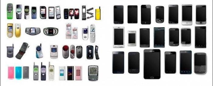 iPhone'dan önceki ve sonraki telefon tasarımları