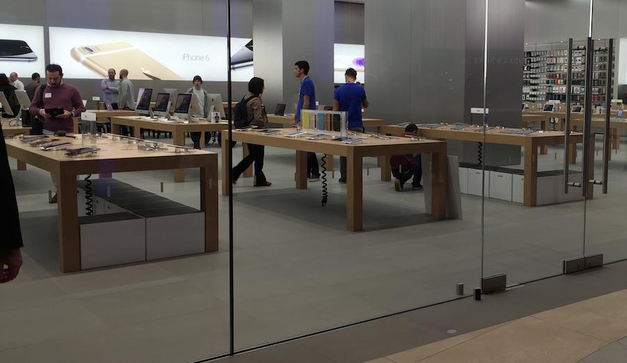 açılış, kutular, akasya apple store