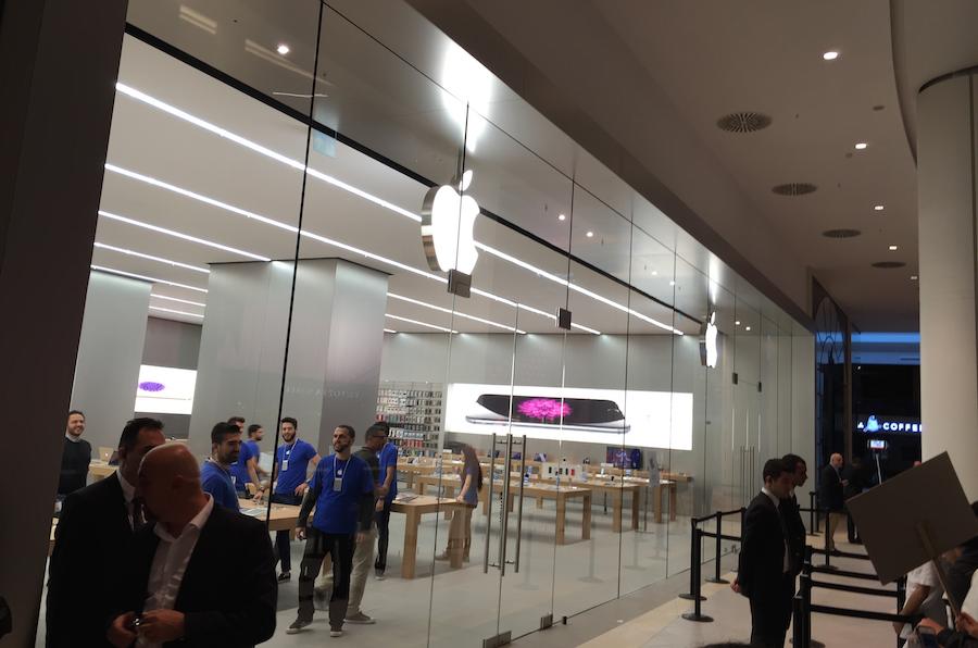 akasya apple store açılış elma dergisi