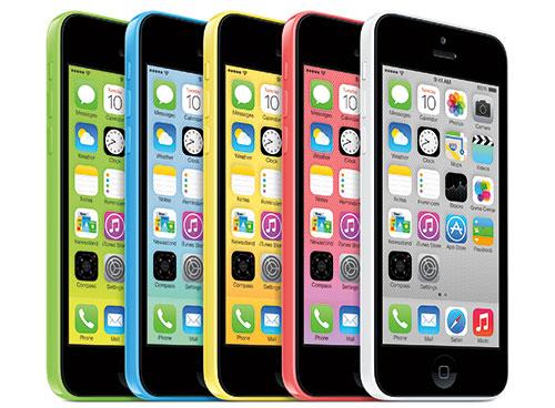 iPhone 5c Yeşil-Mavi-Sarı-Kırmızı-Beyaz