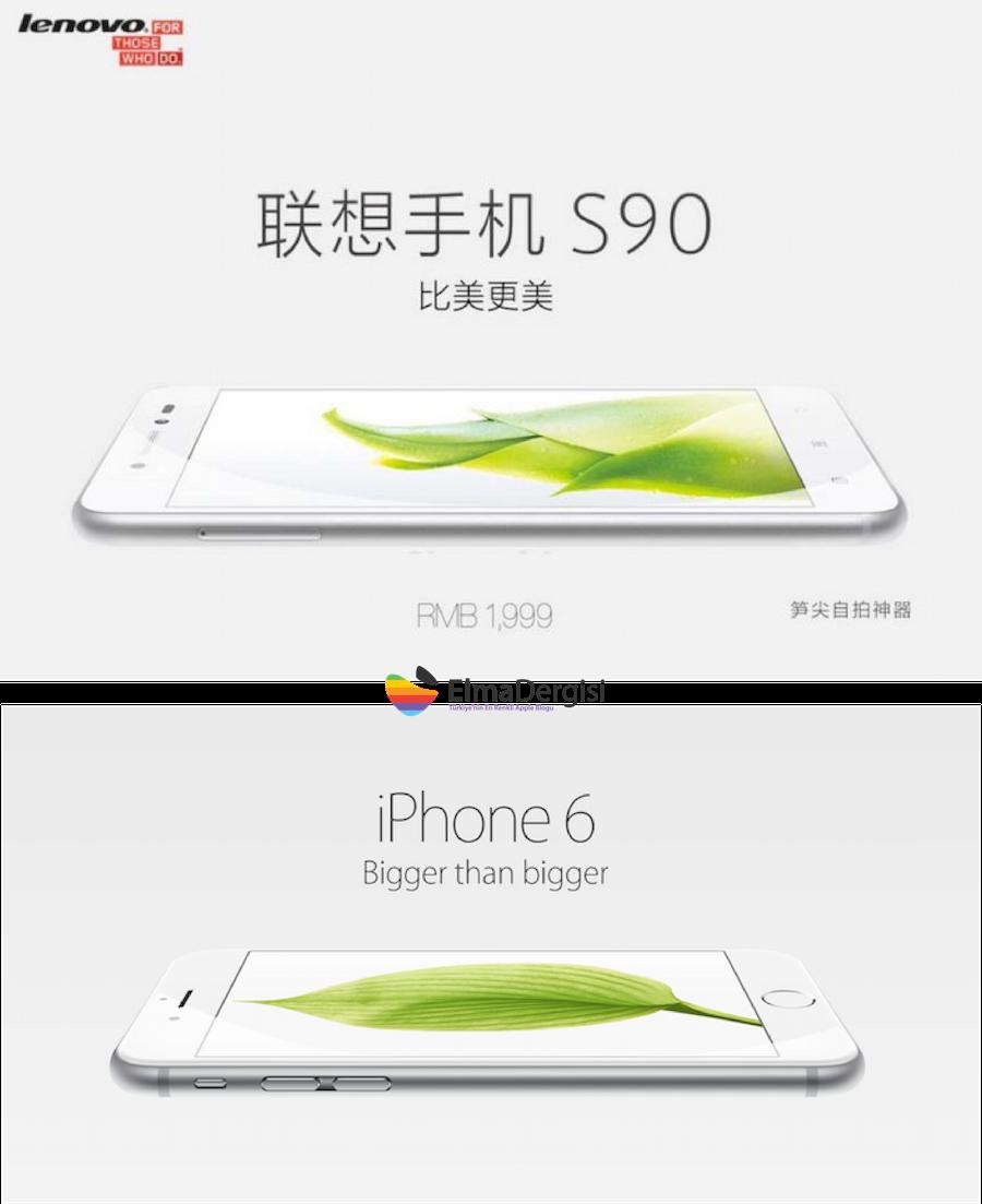 iphone 6 vs lenovo s90