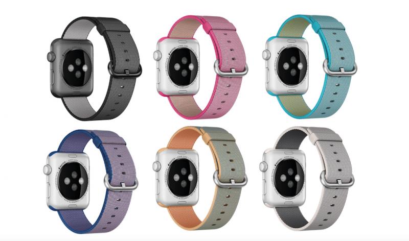 Elma Dergisi Naylor Örgü Kordon Apple Watch Renkleri