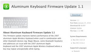 Apple Bluetooth Keyboard Yazılım Güncelleme - Elma Dergisi