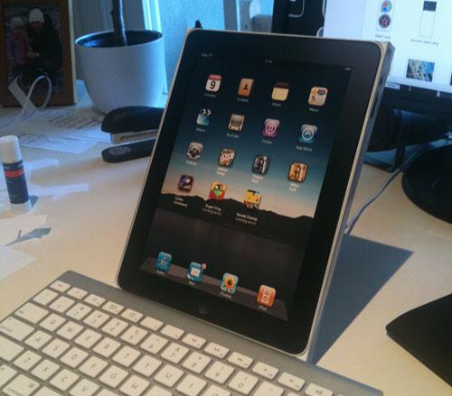 iPad Maket - Elma Dergisi