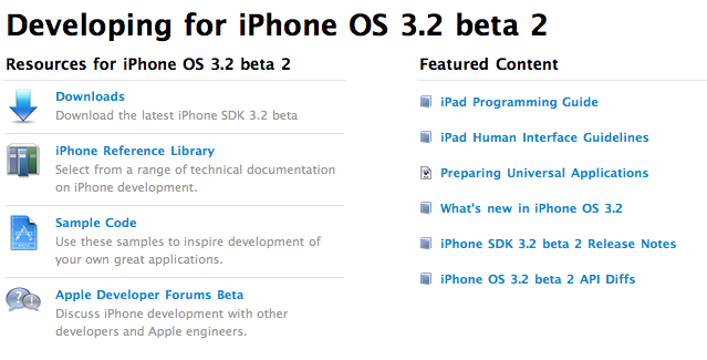 iPhone / iPad SDK 3.2 Beta 2 - Elma Dergisi