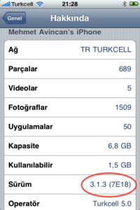 iPhone Os 3.1.3 - Elma Dergisi