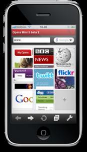 Opera Mini Browser for iPhone - Elma Dergisi
