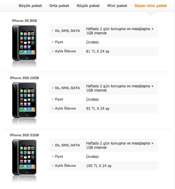 Turkcell iPhone Sözleşmeleri 1 - Elma Dergisi