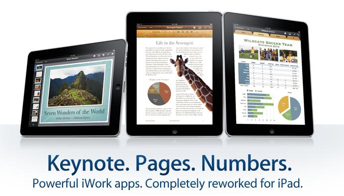 iWork for iPad-App Store-ElmaDergisi.com