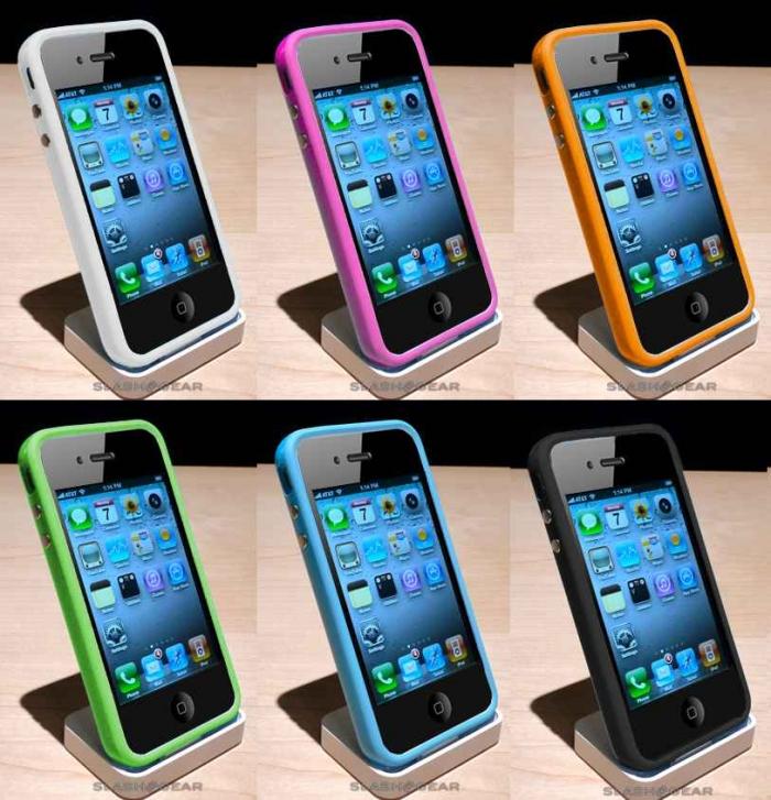 Siyah iPhone 4 Bumper