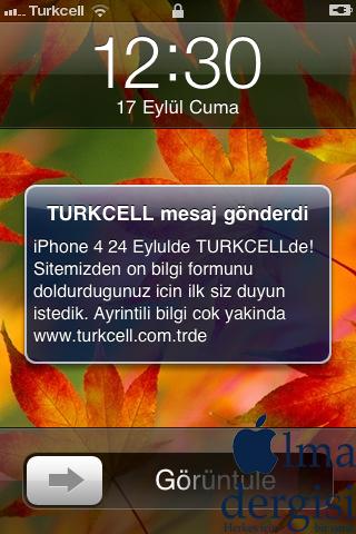 iPhone 4 Türkiye Çıkış Tarihi - Elma Dergisi