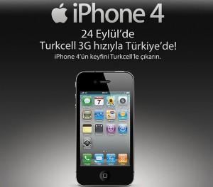 Turkcell iPhone 4 Türkiye Fiyat