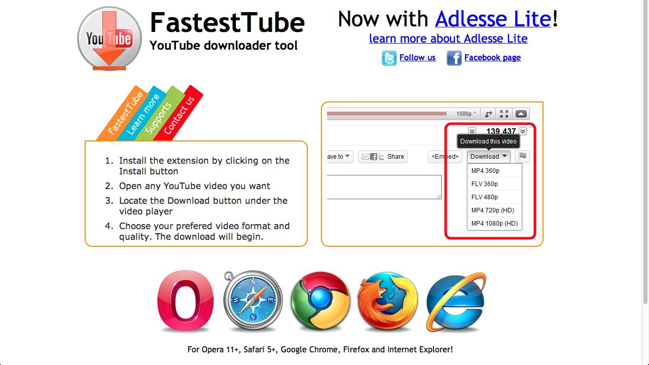 FastestTube ile ilgili görsel sonucu