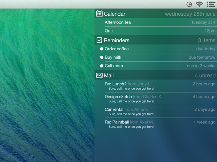 notification-center-concept