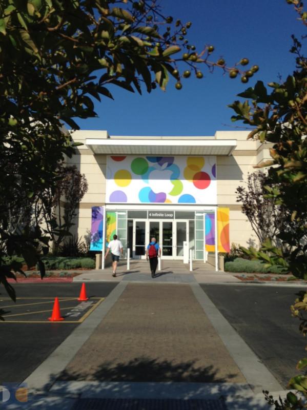 Apple kampüs iphone 5c etkinlik