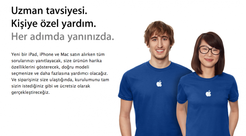 Apple Store Yardım