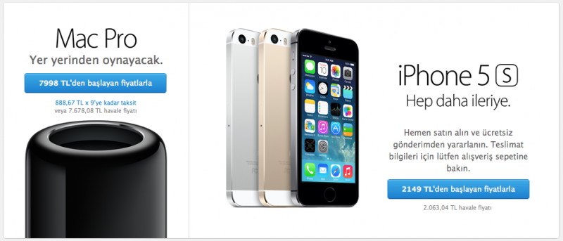 mac pro iphone 5s elma dergisi