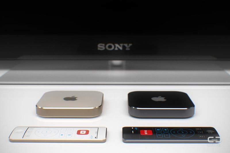 Apple TV konsept çalışması