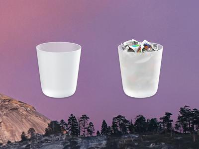 Yosemite'nin özenle tasarlanmış çöp kutusu