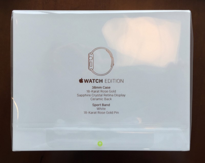 apple watch edition paket yazı
